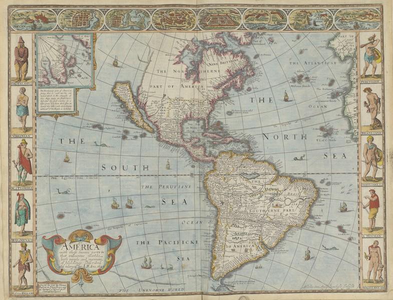 The Theatre of the Empire of Great-Britain - America (1676)