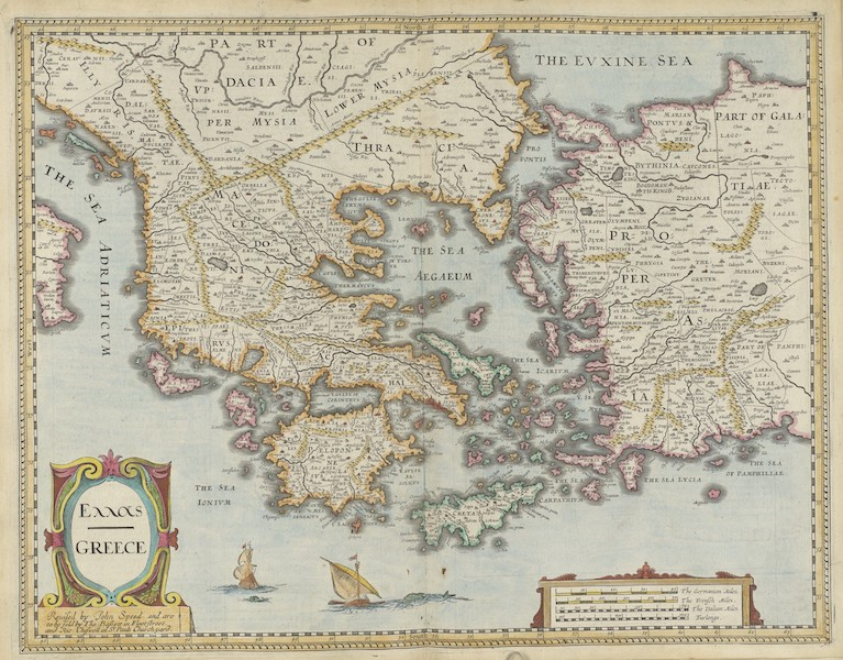 The Theatre of the Empire of Great-Britain - Greece (1676)