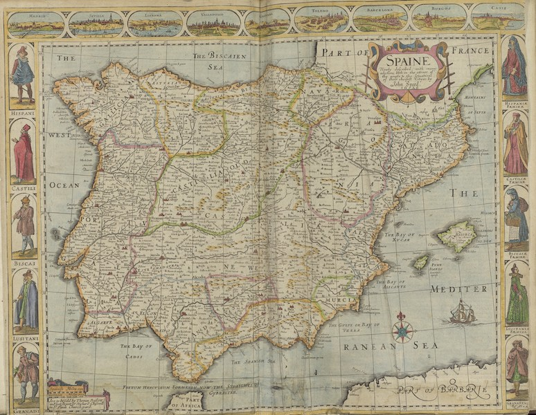 The Theatre of the Empire of Great-Britain - Spain (1676)