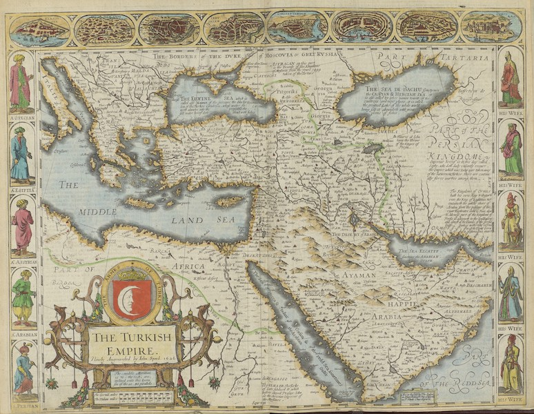 The Theatre of the Empire of Great-Britain - The Turkisch Empire (1676)