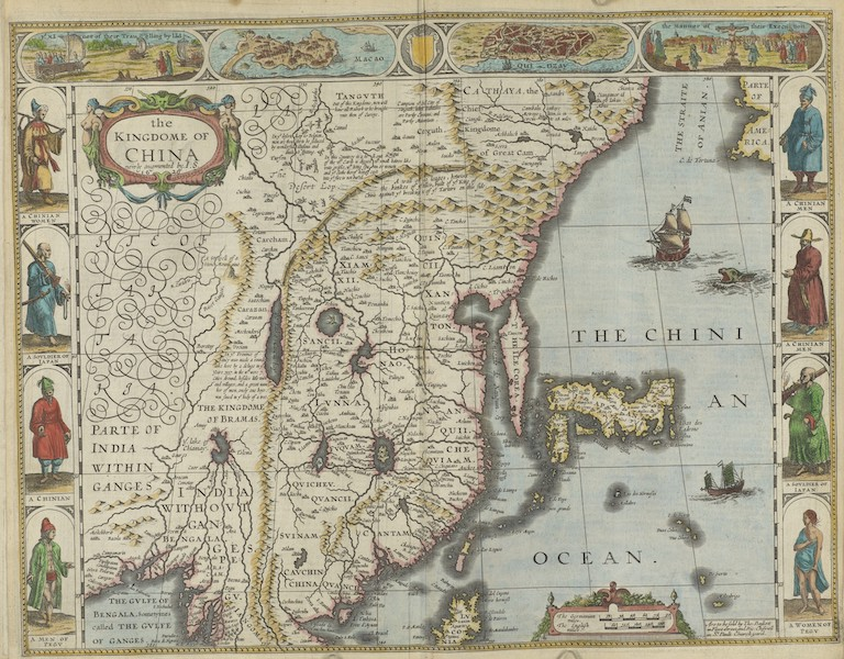 The Theatre of the Empire of Great-Britain - The Kingdome of China (1676)