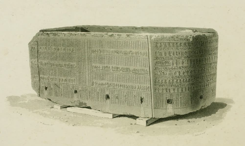 The Tomb of Alexander - The Sarcophagus of Alexander the Great (1805)