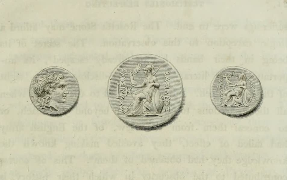 The Tomb of Alexander - Coins of Alexander the Great (1805)