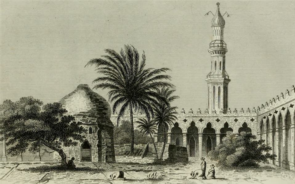 The Tomb of Alexander - View of the Interior of the Ruin of the Soma in Alexandria (1805)