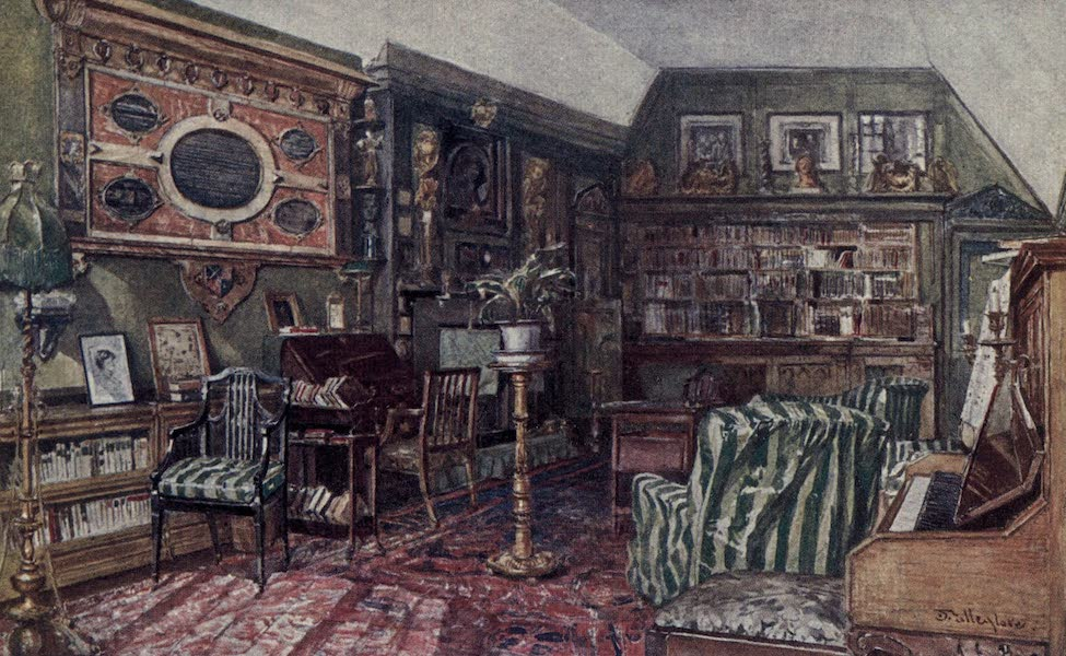 The Tower of London Painted and Described - The Council Chamber in the King's House (1908)