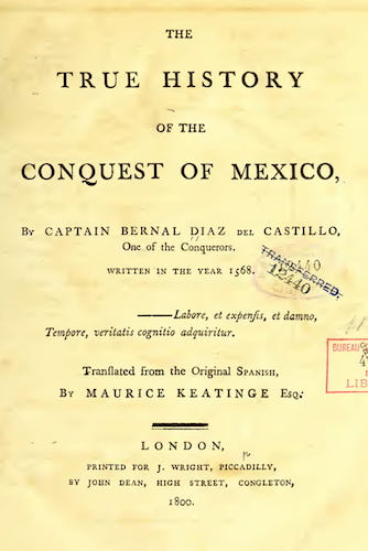 The True History of the Conquest of Mexico (1800)
