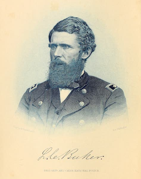 Frontispiece Portrait of Lafayette Charles Baker