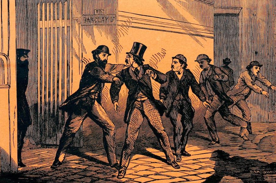 Capture of Bounty Jumpers at Hoboken