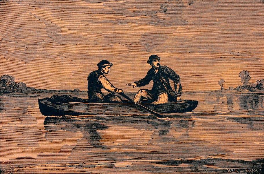 Booth and Harold Crossing the Potomac