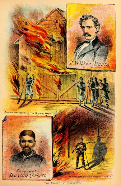 The United States Secret Service in the Late War - The Tragedy at Garrett's (1890)