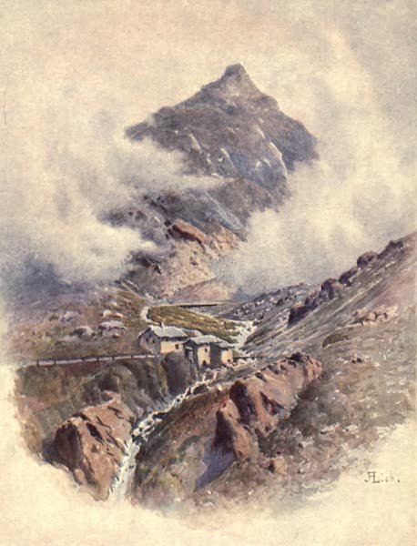 The Upper Engadine Painted and Described - The Julier Pass (1907)