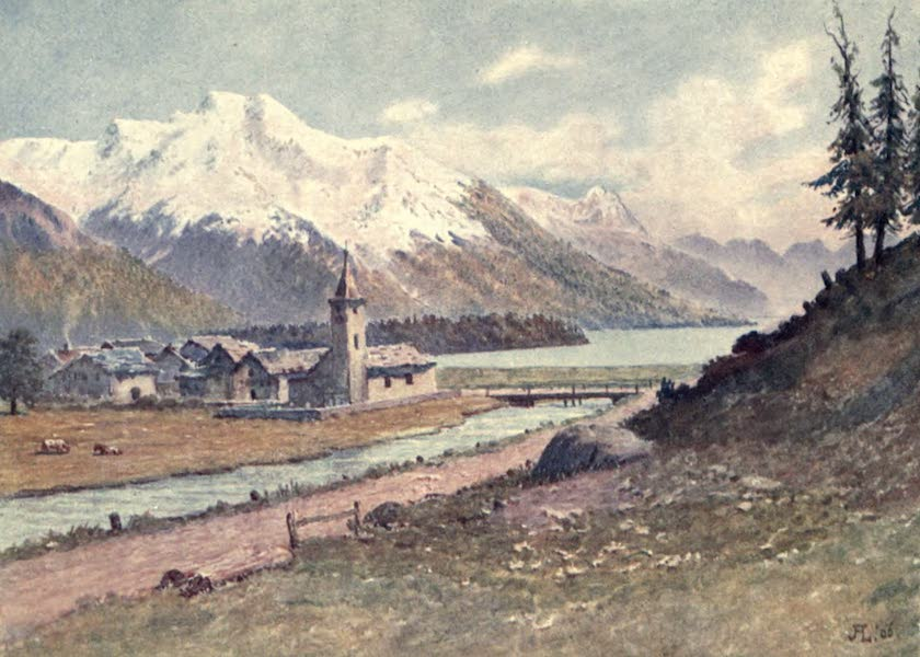 The Upper Engadine Painted and Described - Sils Baselgia (1907)
