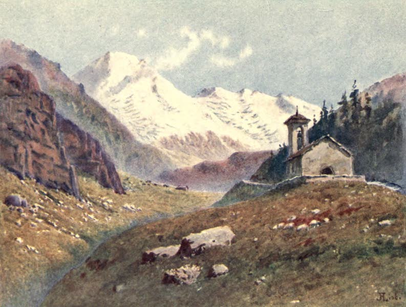 The Upper Engadine Painted and Described - Val Fex (1907)