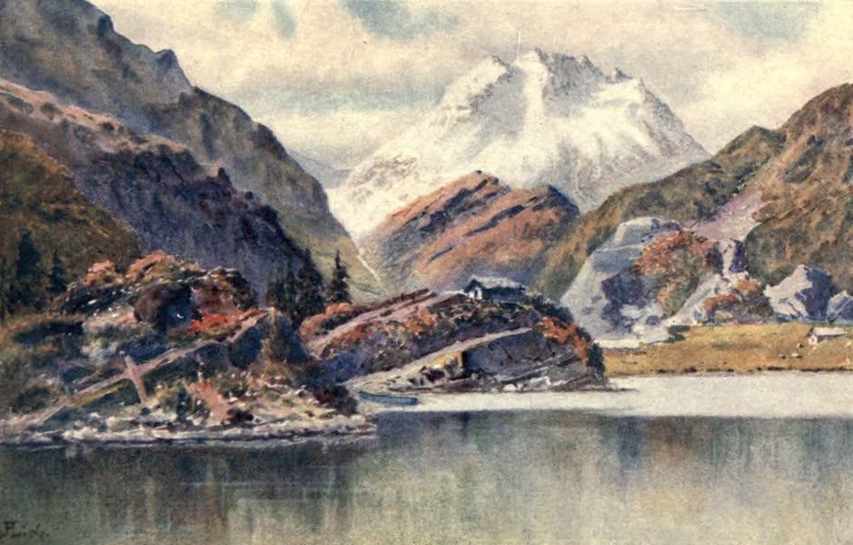 The Upper Engadine Painted and Described - Lago di Cavloccio (1907)