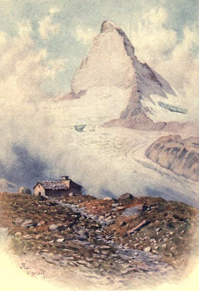 The Upper Engadine Painted and Described - The Matterhorn from the Riffelberg (1907)
