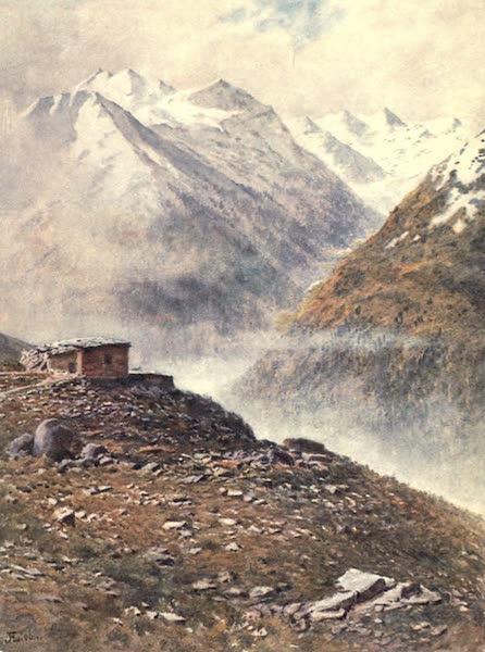 The Upper Engadine Painted and Described - Muottas Muraigl (1907)