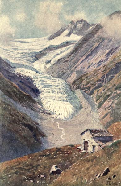 The Upper Engadine Painted and Described - The Palu Glacier (1907)