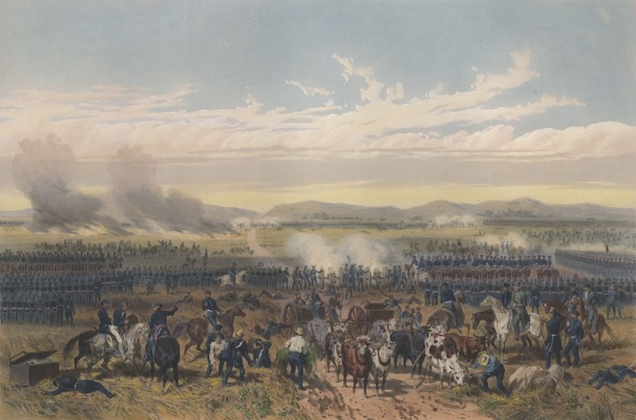 The War between the United States and Mexico - Battle of Palo Alto (1851)