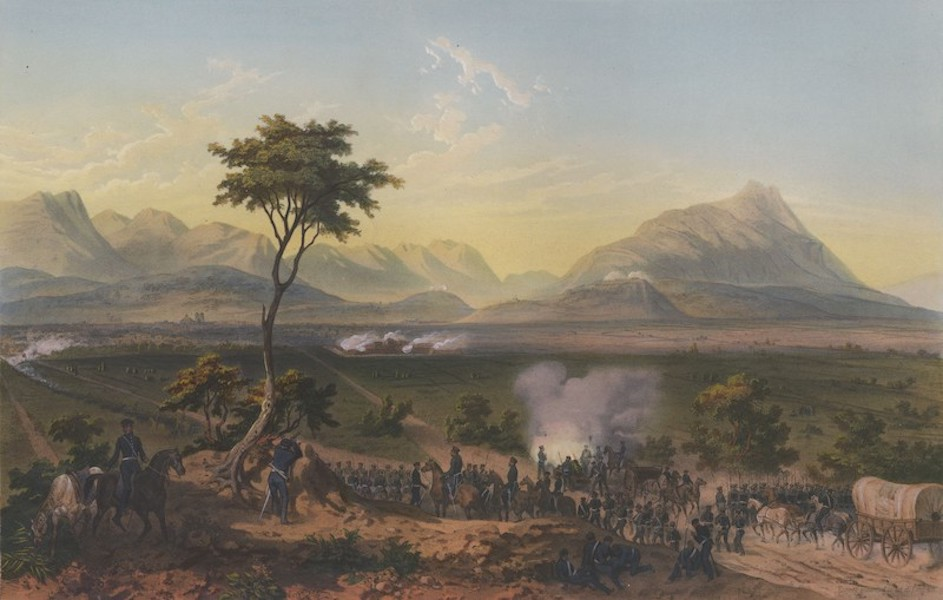 The War between the United States and Mexico - Capture of Monterey (1851)