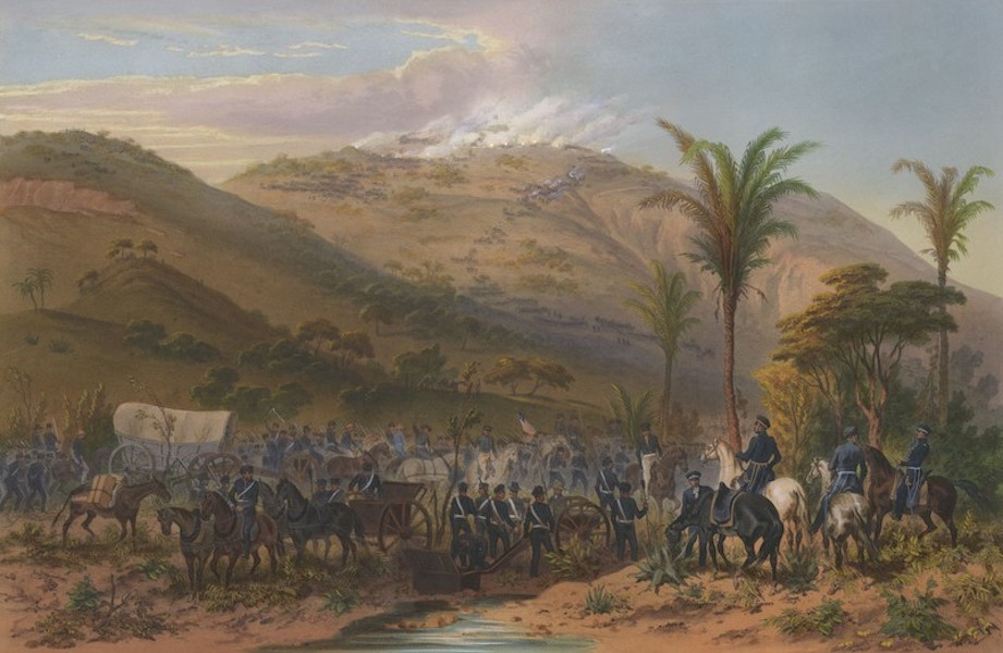 The War between the United States and Mexico - Battle of Cerro Gordo (1851)