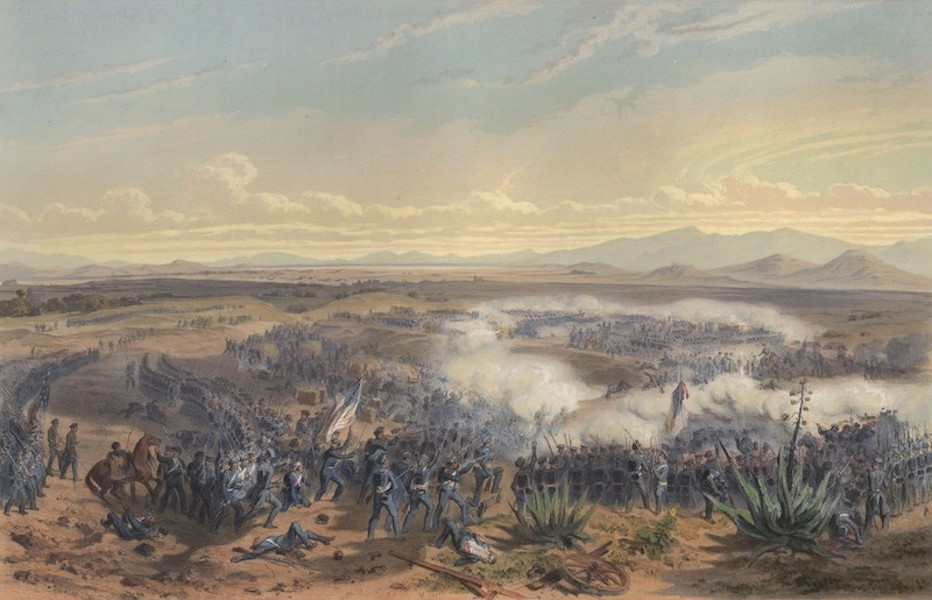 The War between the United States and Mexico - Assault of Contreras (1851)