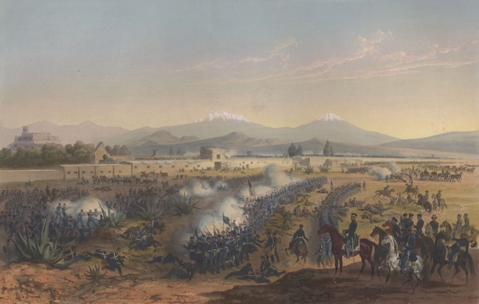 The War between the United States and Mexico - Molino del Rey - Attack upon the Molino (1851)