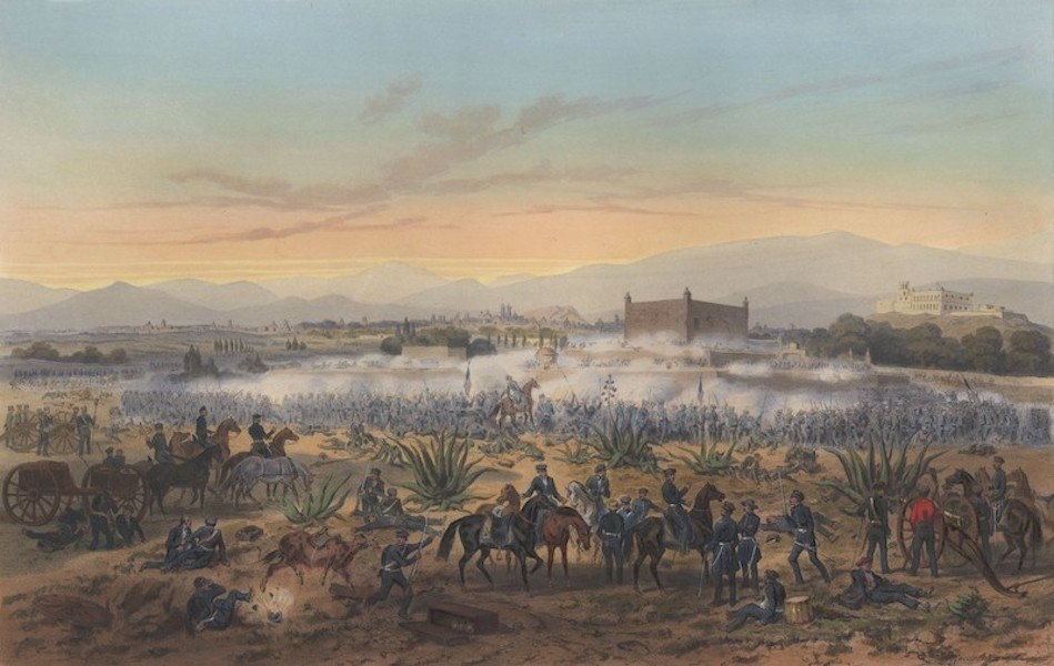 The War between the United States and Mexico - Molino del Rey - Attack upon the Casa Mata (1851)