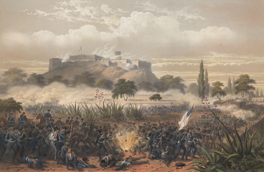 The War between the United States and Mexico - Storming of Chapultepec - Quitman's Attack (1851)