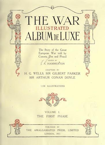 The War Illustrated Album de Luxe Vol. 1