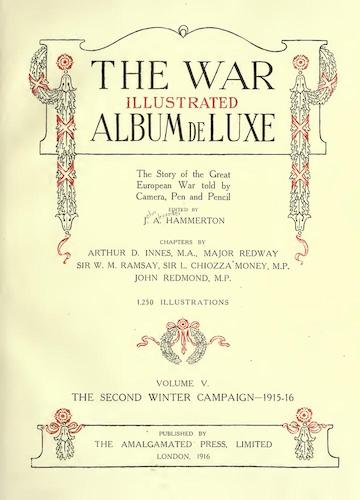 Great Britain - The War Illustrated Album de Luxe Vol. 5