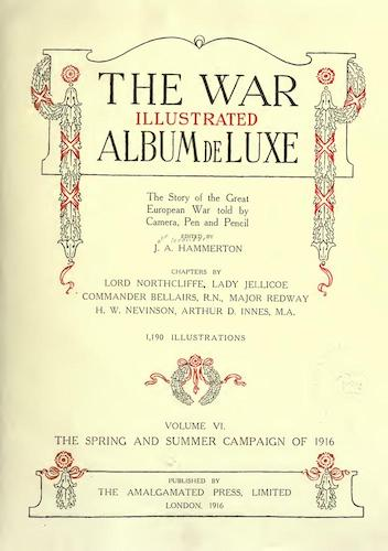 Great Britain - The War Illustrated Album de Luxe Vol. 6