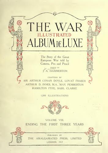 Great Britain - The War Illustrated Album de Luxe Vol. 8