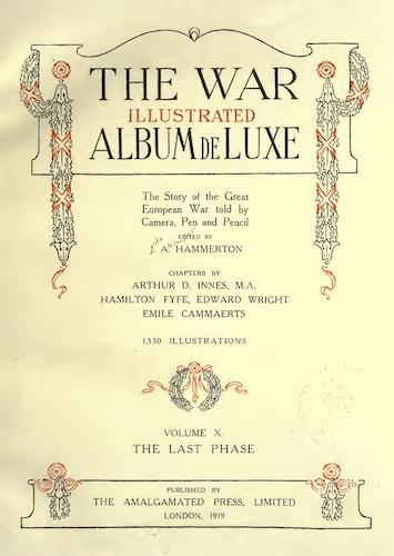 Great Britain - The War Illustrated Album de Luxe Vol. 10