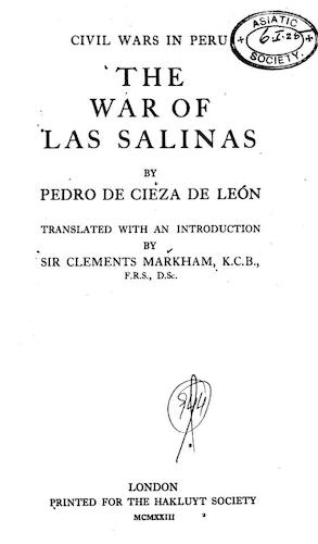 Andes - The War of Las Salinas
