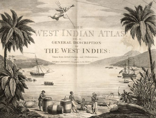 David Rumsey Cartography - The West-India Atlas