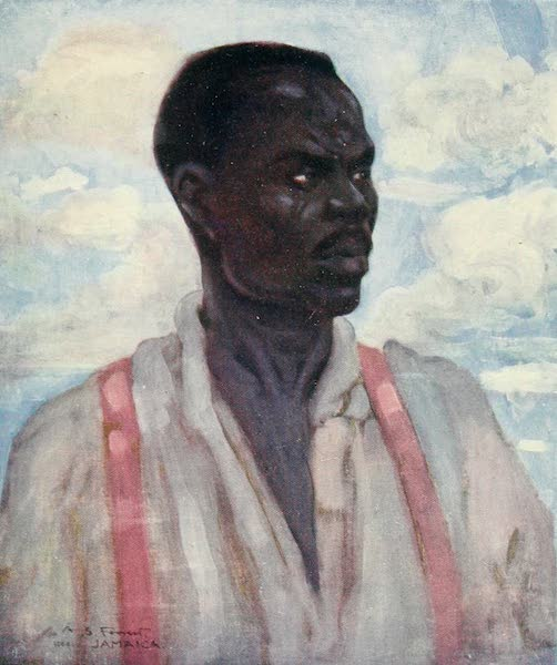 The West Indies, Painted and Described - A Negro (1905)