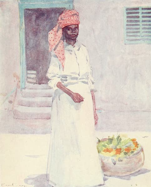 The West Indies, Painted and Described - A Market Woman, Jamaica (1905)