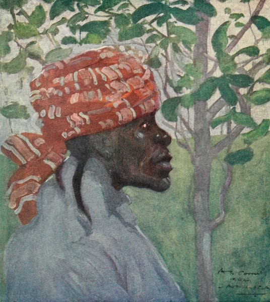 The West Indies, Painted and Described - An Old Woman (1905)