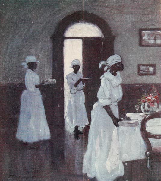 The West Indies, Painted and Described - Waiting Maids (1905)