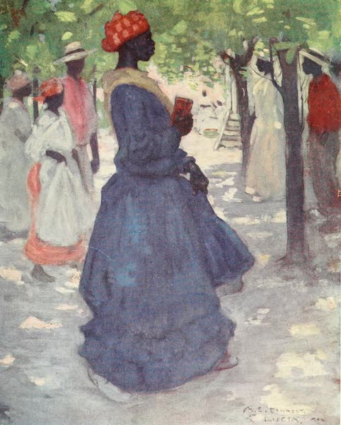 The West Indies, Painted and Described - Going to Church (1905)