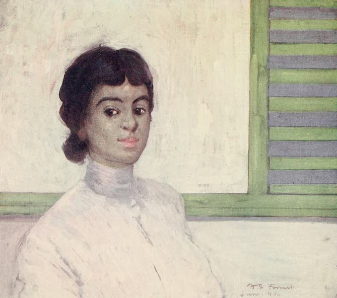 The West Indies, Painted and Described - A Coloured Girl (1905)