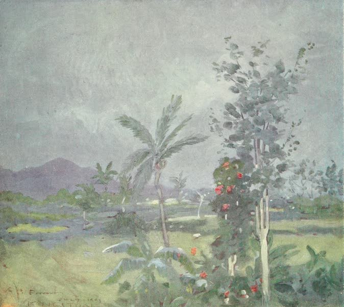 The West Indies, Painted and Described - Tropical Rain (1905)