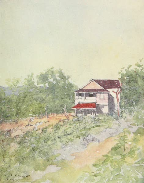 The West Indies, Painted and Described - A House on the Hills (1905)