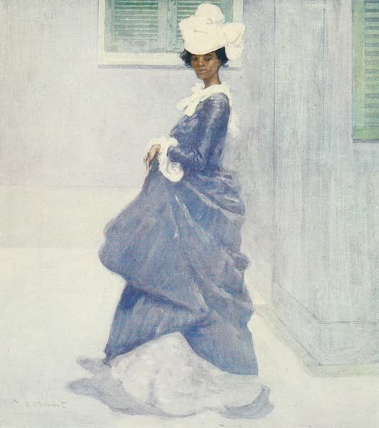 The West Indies, Painted and Described - A Martinique Lady (1905)