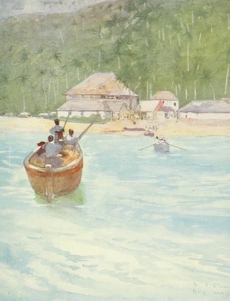 The West Indies, Painted and Described - Dry Harbour, Jamaica (1905)