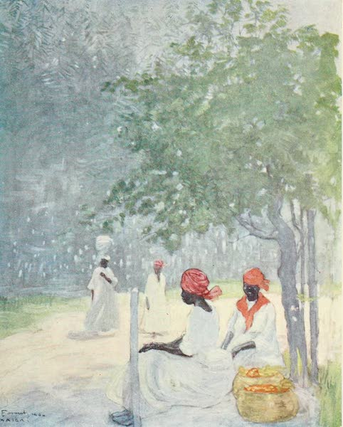 The West Indies, Painted and Described - Mid-day Heat, Jamaica (1905)