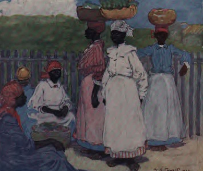 The West Indies, Painted and Described - Resting by the Way, Jamaica (1905)