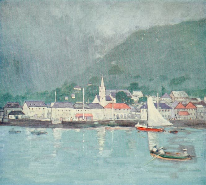 The West Indies, Painted and Described - Roseau, the Capital of Dominica (1905)