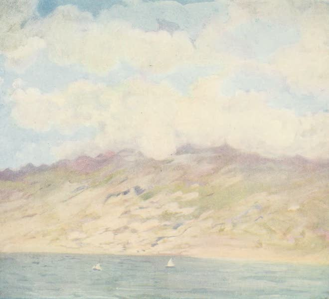 The West Indies, Painted and Described - Mont Pelee, Martinique (1905)