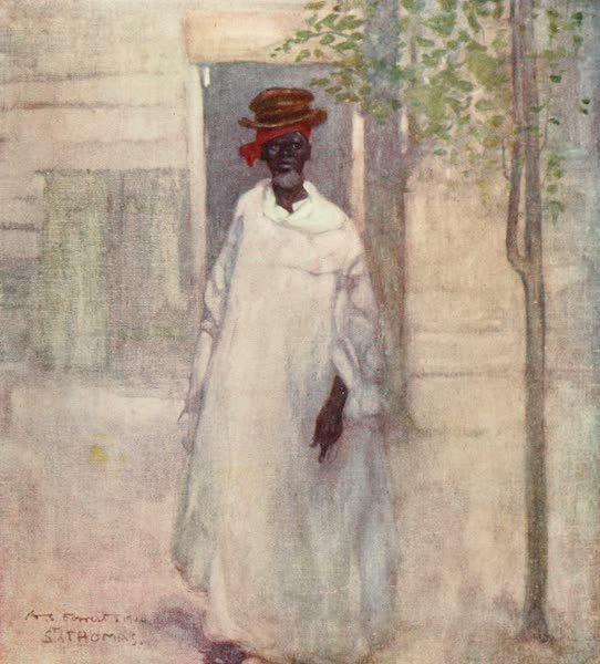 The West Indies, Painted and Described - An Old Man, St. Thomas (1905)
